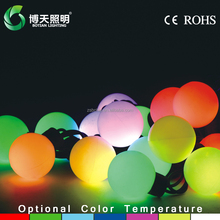 Big ball string led lights,led ball string outdoor