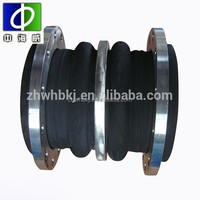 for power plant and hydraulic engineering rubber joints with flange ends