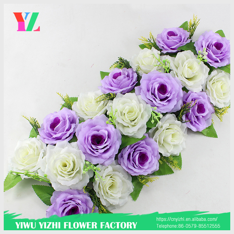 artificial silk flower for wall wedding occation decoration wedding flower arch