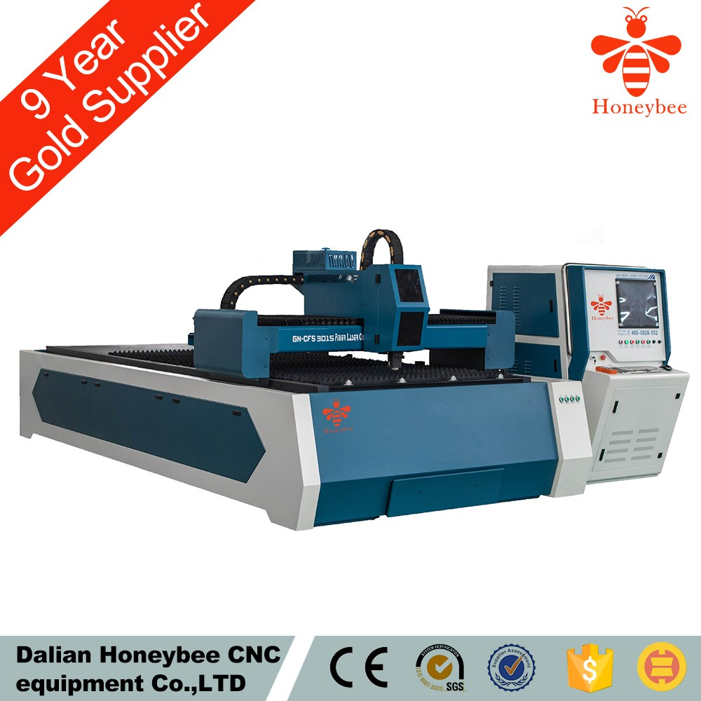 Honeybee cnc laser cutting machine for steel hot sell in UAE