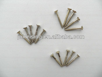 Self-tapping screws zinc plated