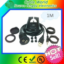 USB2.0 Car Dash Mount Installation cable