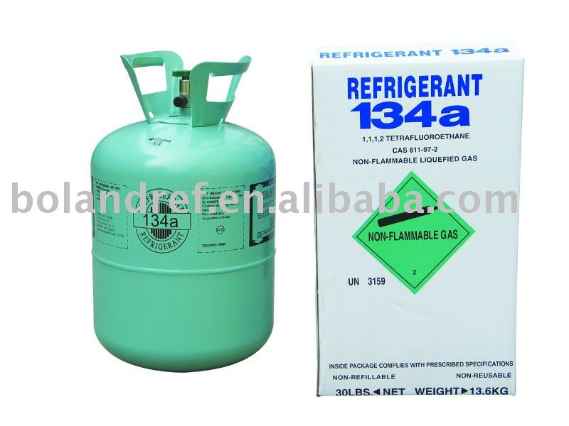 99.9% purity R134a Refrigerant Gas/ Refrigerant R134a/ R134a Freon gas for refrigeration