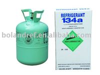 99.9% purity R134a Refrigerant Gas for air conditioning