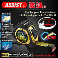 2m 3m 5m 7.5m 10m ABS steel measuring tape
