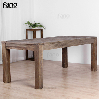 reclaimed wood furniture antique wood table rustic banquet table 8 seater french country style dining table
