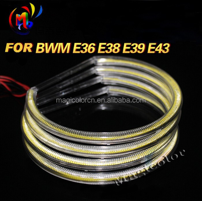 Xenon White 131mm Wholesale COB LED Halo Ring for BMW E46 E36 E39 LED Angel Eyes