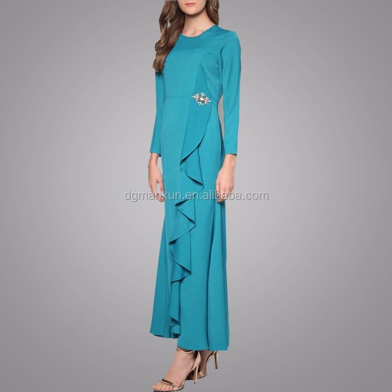 Chinese Supplier Muslim Women Dresses Charming Malaysia Kebaya High Quality Islamic Clothing Long Sleeve Abaya Wholesale Buy Muslim Abaya Islamic