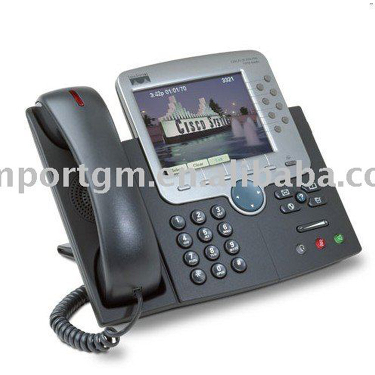 Factory price CP-7970G wireless voip phone of china exporter