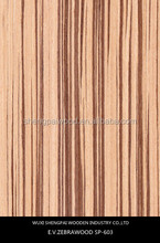 low price hot sale engineered zebrano wood face veneer with top quality zebrano laminated recon plywood sheets/rotary cut birch