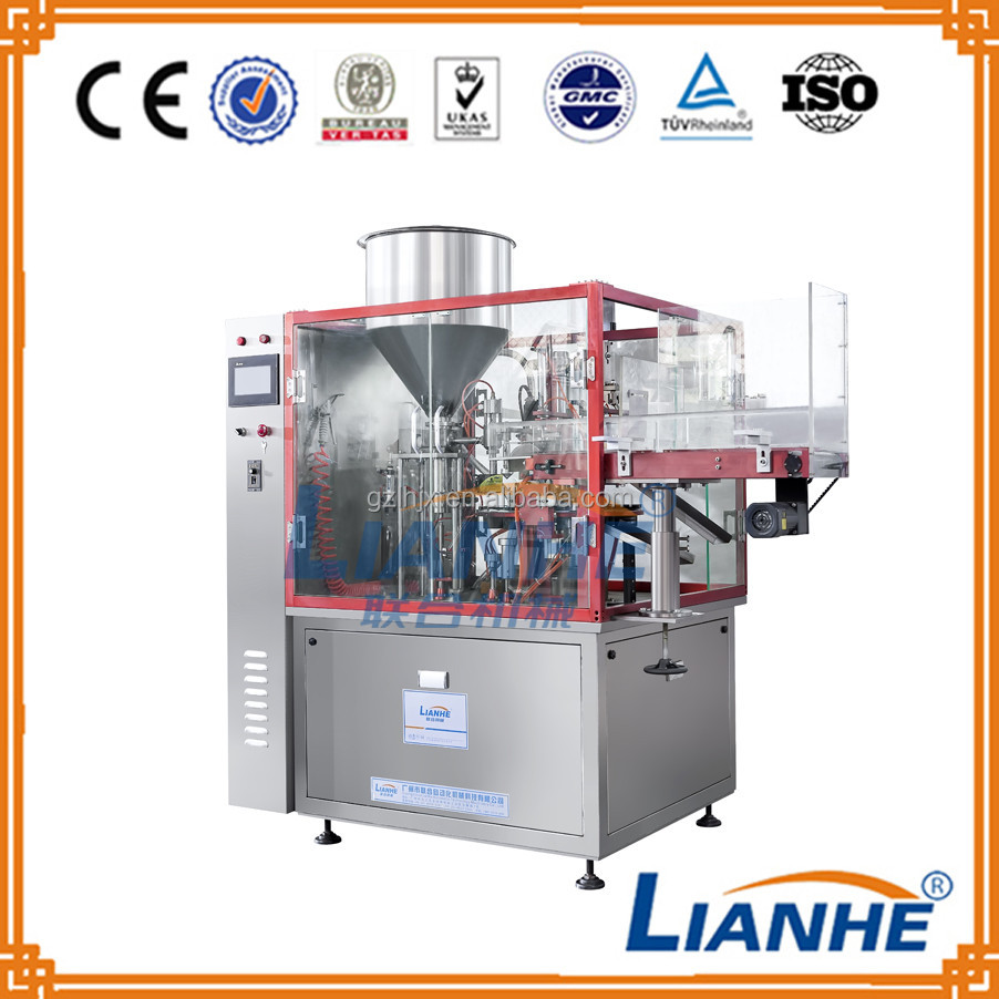 For cream tube Fully automatic plastic tube filling and sealing machine