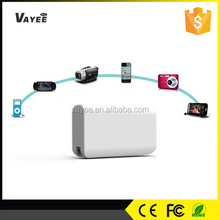 With LED torch light AAA grade 5200mah portable solove power bank