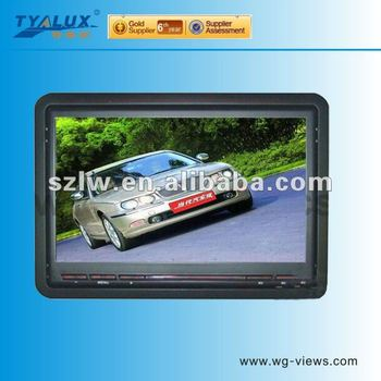 Seven inch Dual video inputs LCD car Monitor
