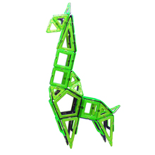 Factory offer directly high quality magnetic triangle square building blocks