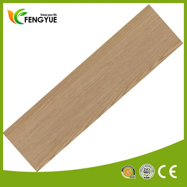 Best Choice for Bedroom Use Beech Wood Texture PVC Vinyl Floor Planks