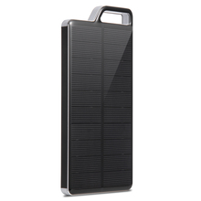PowerGreen 10000mAh Best Solar Power Bank Battery Charger for Iphone