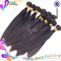 Good quality 5a grade black girl hair extension