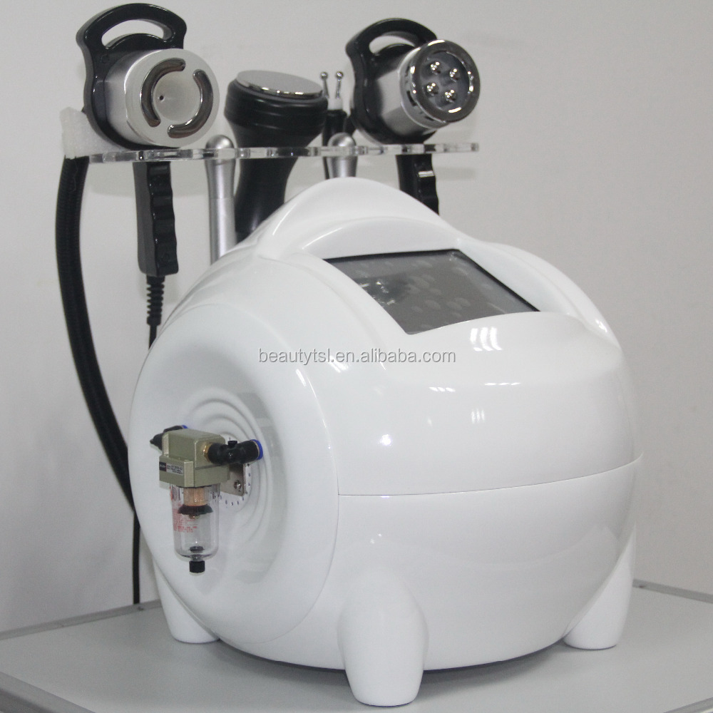 Portable instrument fat loss power shape vacuum cavitation/vacuum tripolar rf cavitation/vacuum and cavitation probe