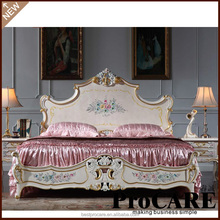 Italy luxury royal furniture antique bedroom sets,king size bed ,Italian classic furniture