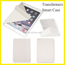 Multi-angle Bracket Case Transformers Leather for ipad air smart cover for ipad mini Ultra-thin Case Factory Wholesale