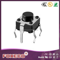 SMT Tactile Push Button Switch with grounding pin