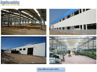 low cost prefabricated light steel structure house