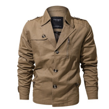 <strong>Men's</strong> Fall Cotton Casual Military Bomber Outwear Windbreaker Cargo <strong>Jacket</strong>