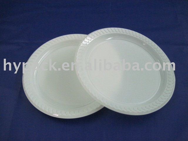 biodegradable ivory plastic packaging tray