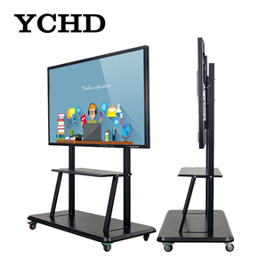 Education equipment 55 inch YCHD panel all in one pc with touch screen