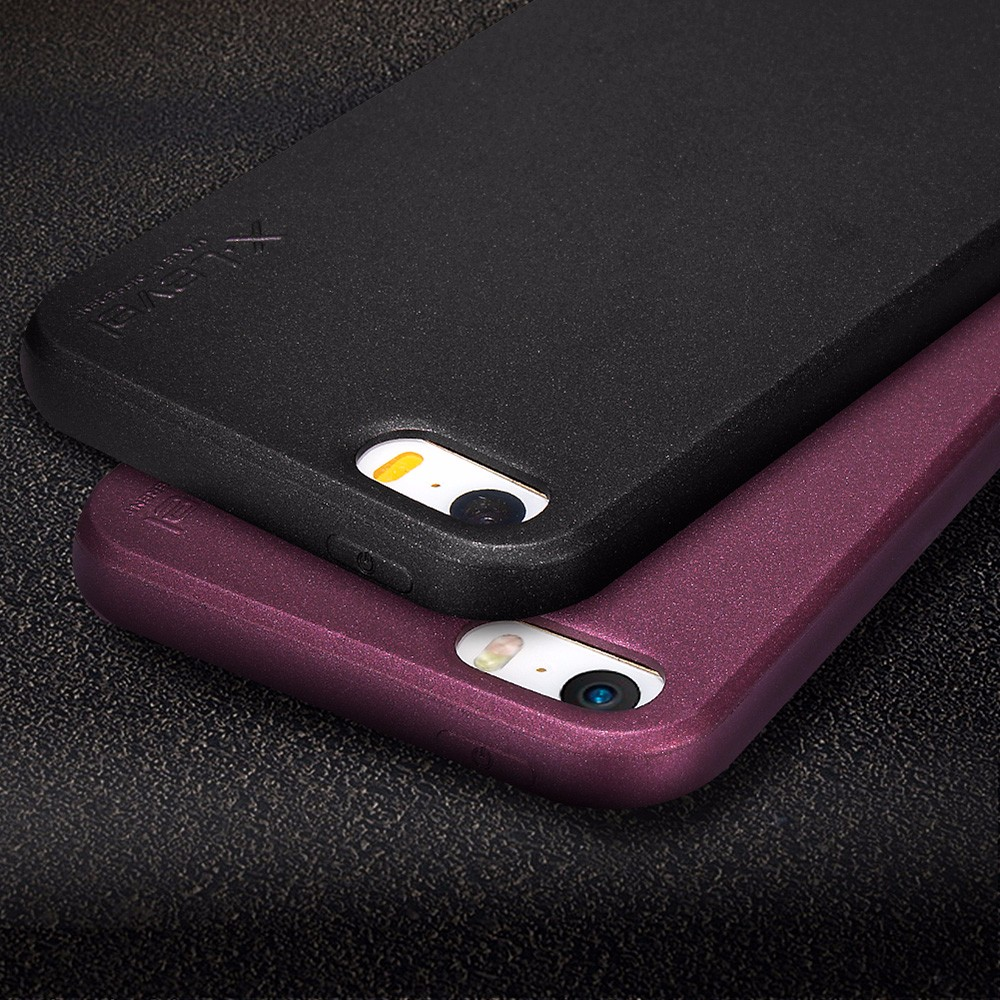 [X-Level] Top Quality Universal Silicone Phone Case for iPhone 5 SE