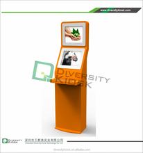 all in one i7 touch pc interactive free-standing kiosks mobile banking solutions