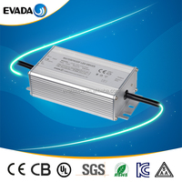 IP67 1250ma constant current led driver isolated dc power supply 70w