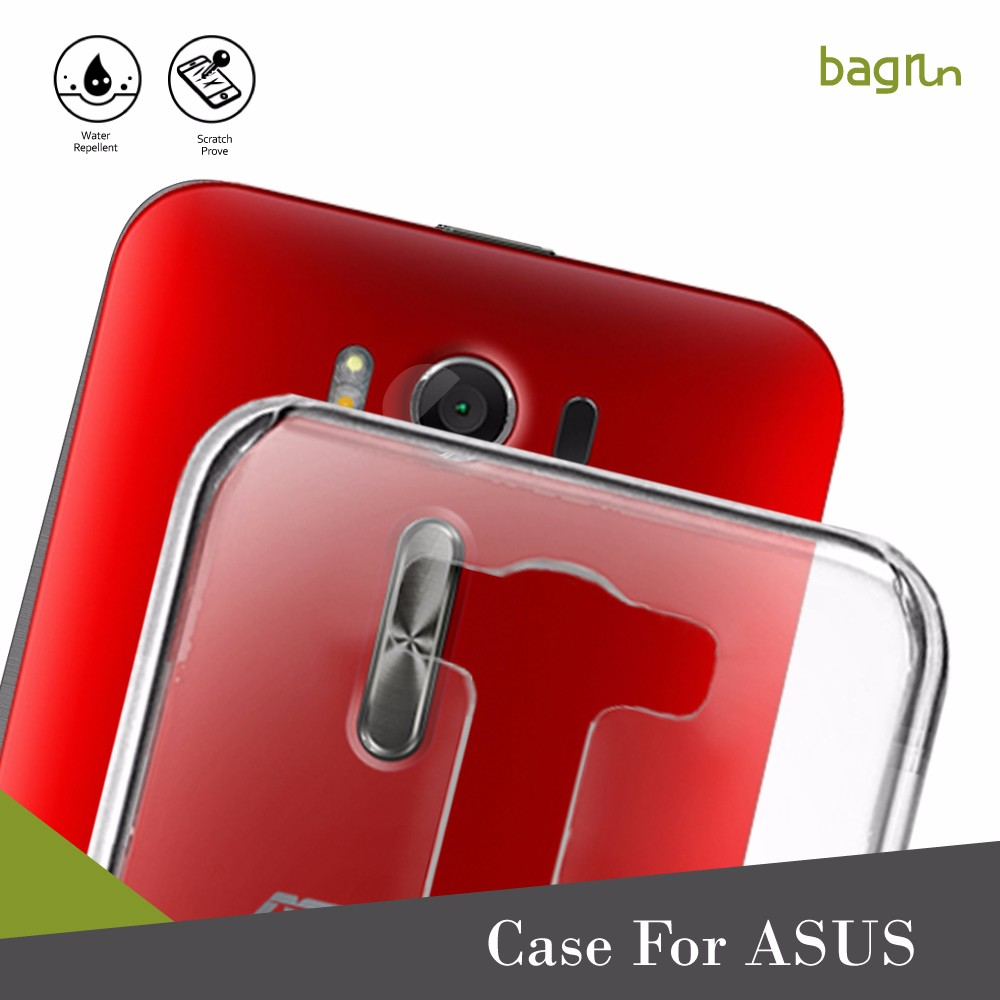 Luxury TPU Clear Back Cover Phone Case For ASUS