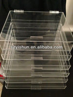 Customizing ACRYLIC MAKEUP ORGANIZER W/DRAWERS CLEAR CUBE W/A GIFT