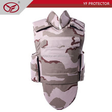 NIJ IV hard plates carries kevlar full body armor suit