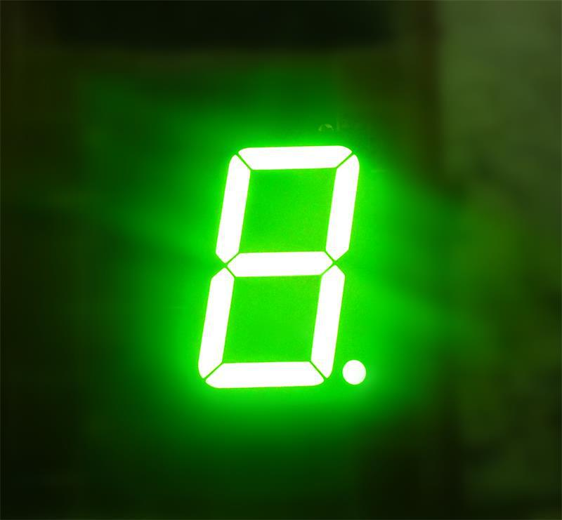 Bicolor Red+green bi-color 1.5 inch dual color 7-segment led displays