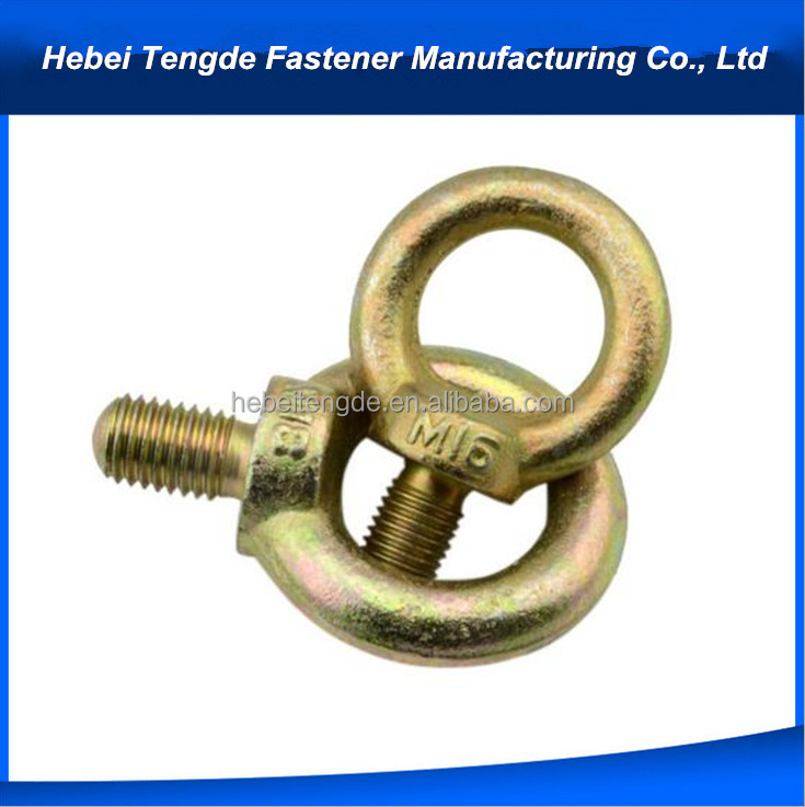 hardware fastener lifting bolt and nut m28 lifting eye bolt anchor eye bolt