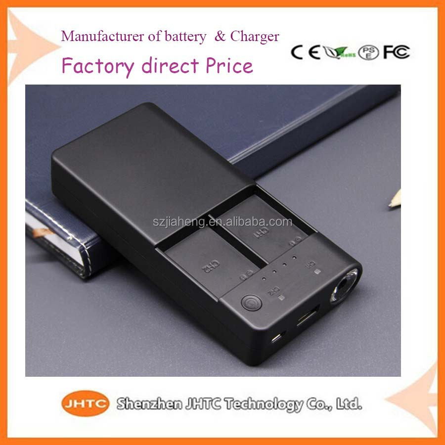Top quality digital camera battery power bank for gopro