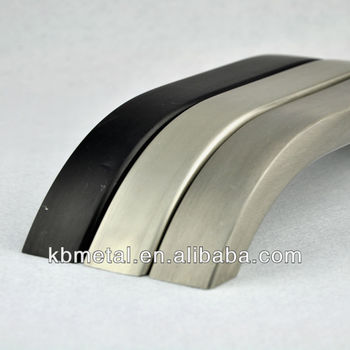 oxidized aluminum handle