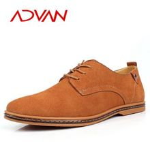 Casual Style Handmade Geniue Suede Leather Shoes For Men