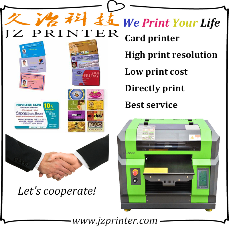 Wedding invitation card printing machine with fast speed