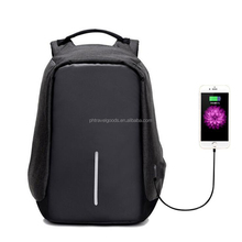 15 inch Anti-Theft <strong>backpack</strong> with usb charging anti theft bag laptop <strong>backpack</strong>