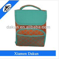 Factory direct sale durable insulated cooler tote fitness bag meal