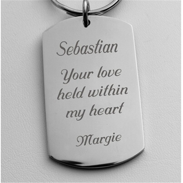 Yiwu Aceon Stainless Steel Novelty Gift Personalized metal key chain