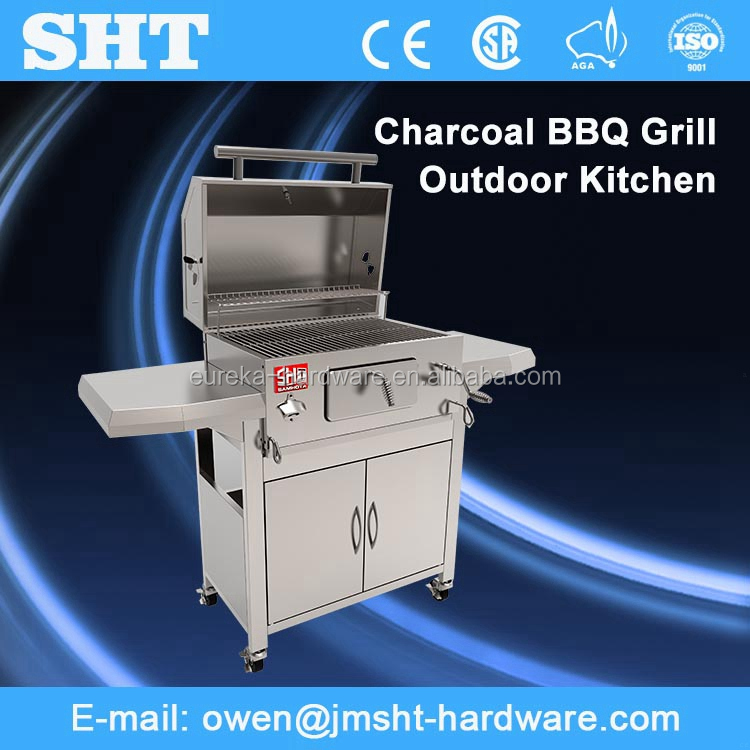 Make In China Professional Popular Unique Design Bbq Charcoal Grill