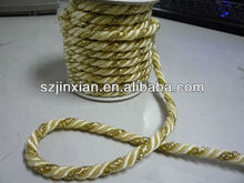 5mm polyester braided twisted cord