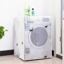 Yiwu hot sale transparent Waterproof washing machine dust cover
