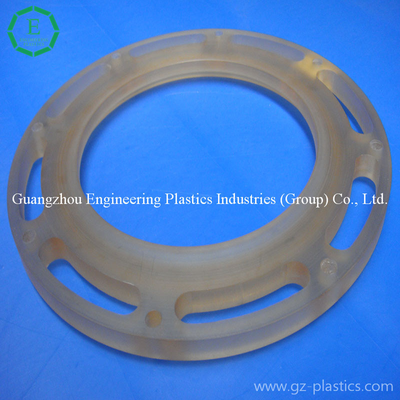 High performance Steam valve sheet customized PPSU plastic valve plate for sale