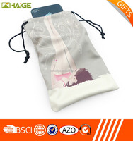 full color printing pouch microfiber bag promotional