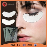 Lint free eyelash extension tools eyelash pads eyelash extension eye patch
